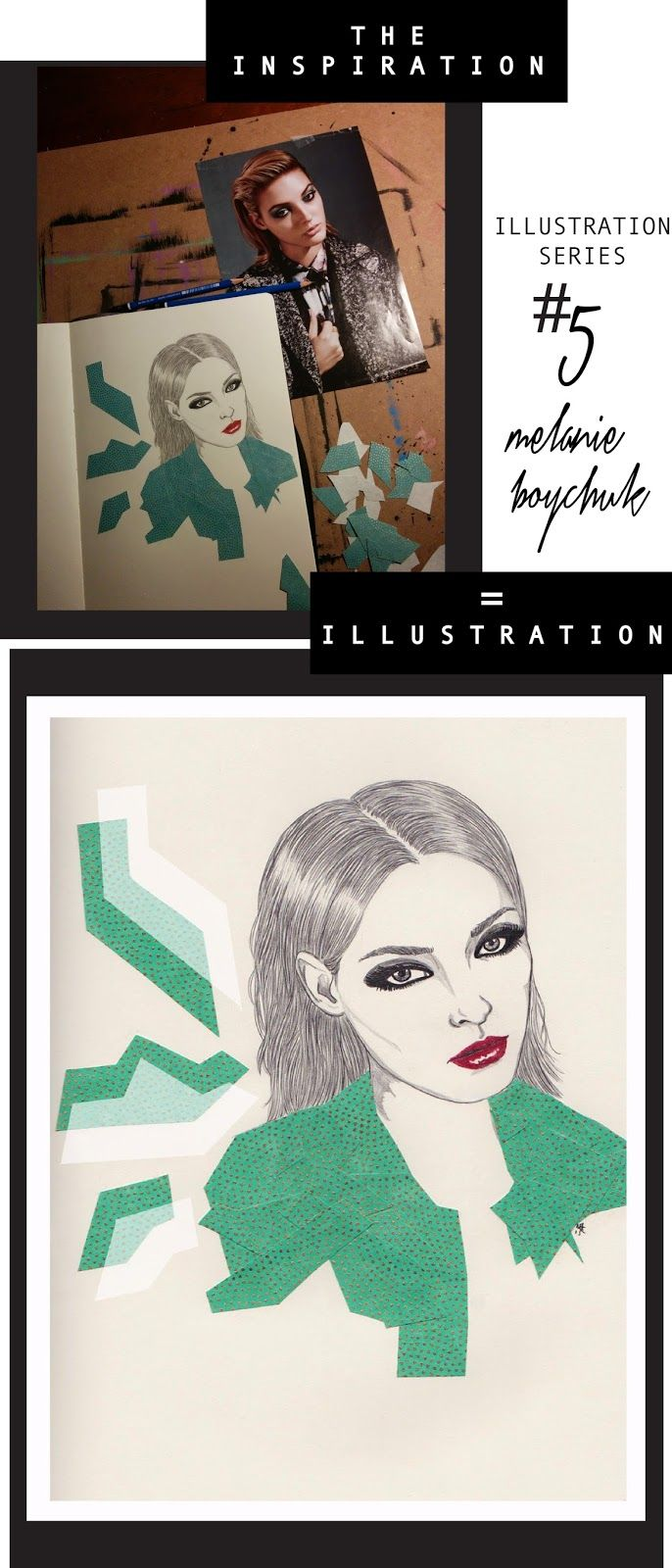 FASHION VIGNETTE: [ INSPIRATION + ILLUSTRATION ] series by MELANIE B...