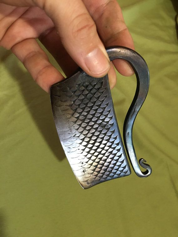 Hand forged herb chopper by NagelHausForge on Etsy