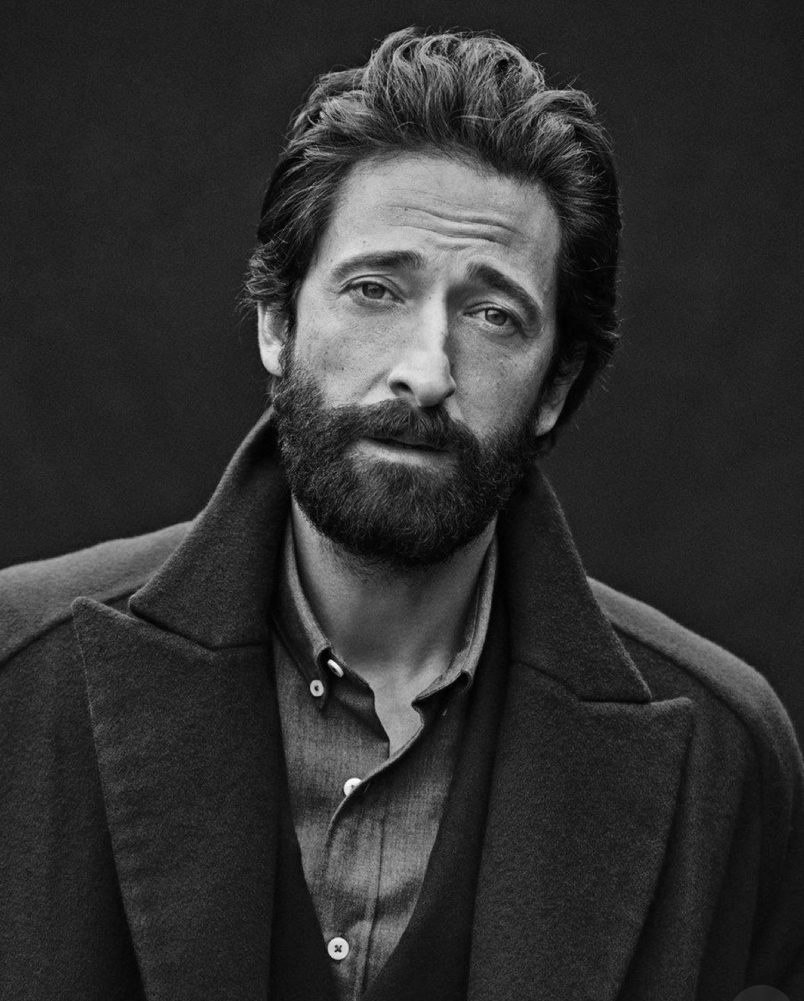 Pin by Dawn on Leading Men in 2019 Adrien brody, Epic beard, Actor