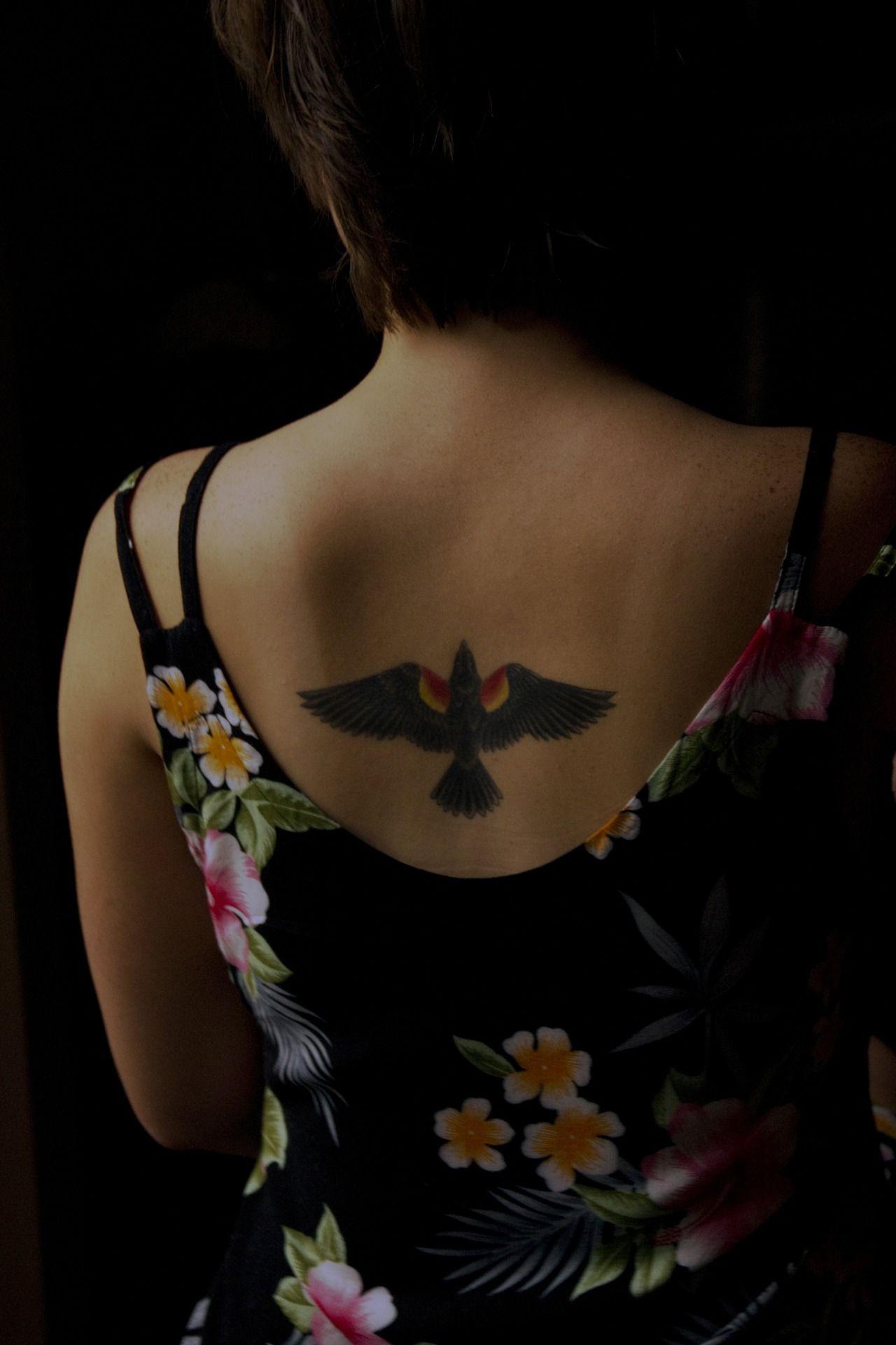 Pin by becca beaudet on ink tattoos black bird tattoo