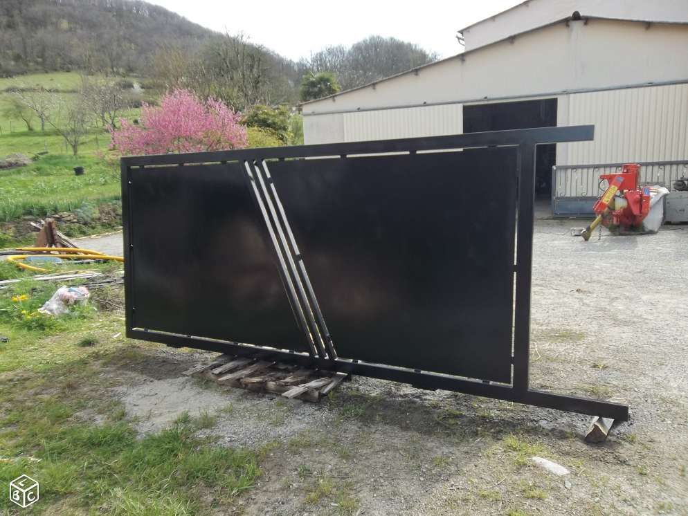Portail Coulissant Outillage Materiaux 2nd Oeuvre Ariege