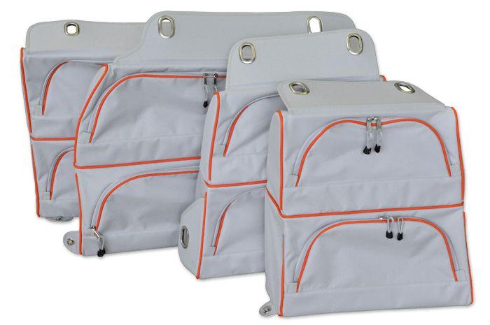 packtaschen caddy maxi 4 st ck auto campingbus auto. Black Bedroom Furniture Sets. Home Design Ideas