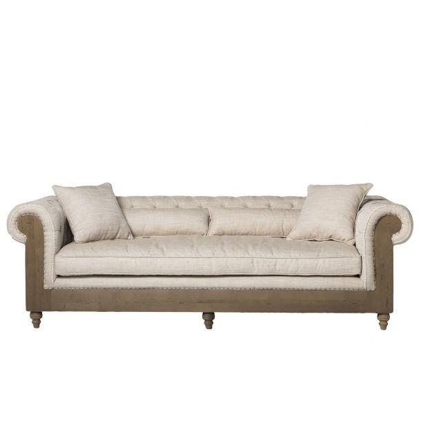Bordeaux Sofa White Moe S Home Collection Furniture Elegant Sofa