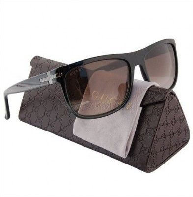 Óculos Gucci Men s GG1027S Men Sunglasses Black 0807 1027S 0807 HA  Authentic  Gucci Óculos 9b712db50e