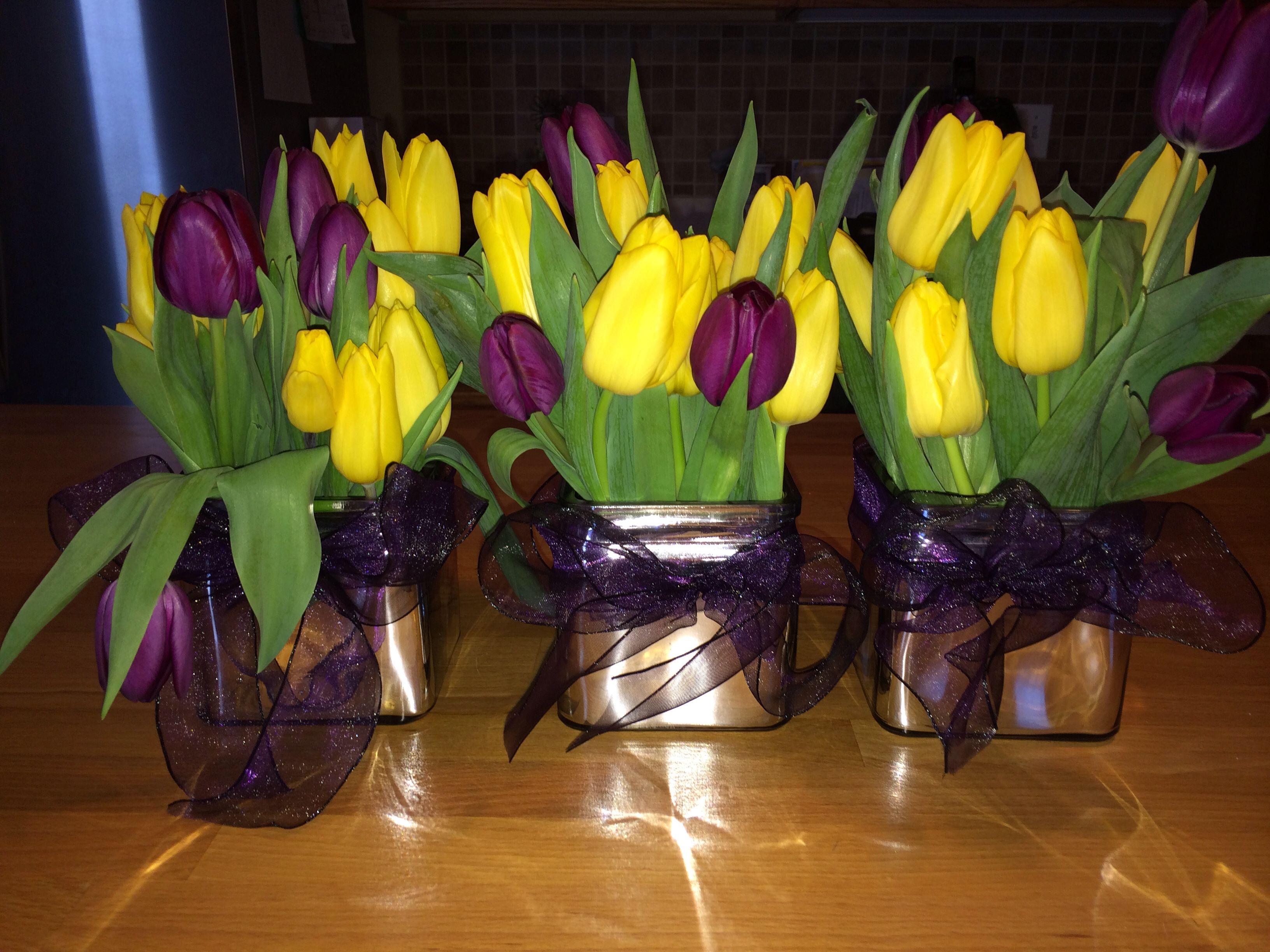 50th anniversary flower color combination Anniversary