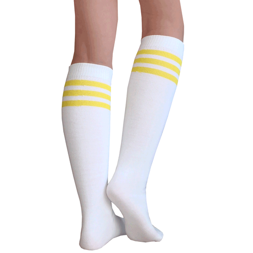 f4e1caeaefb Yellow skater socks. All sorts of colors. Large quantities too
