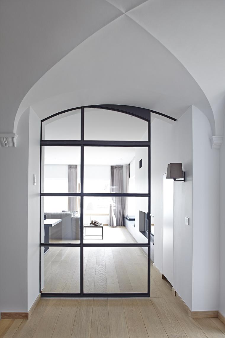Porte intérieur design pour espaces de vie contemporains | Steel ...