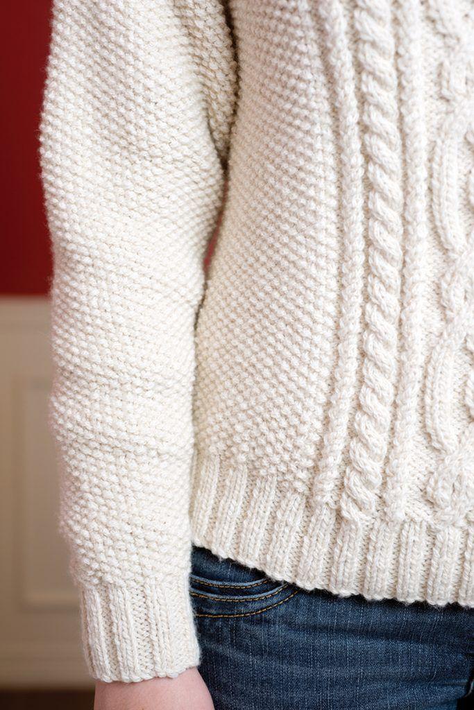 Winter Wonderland Aran Sweater | sjaals en winterspullen