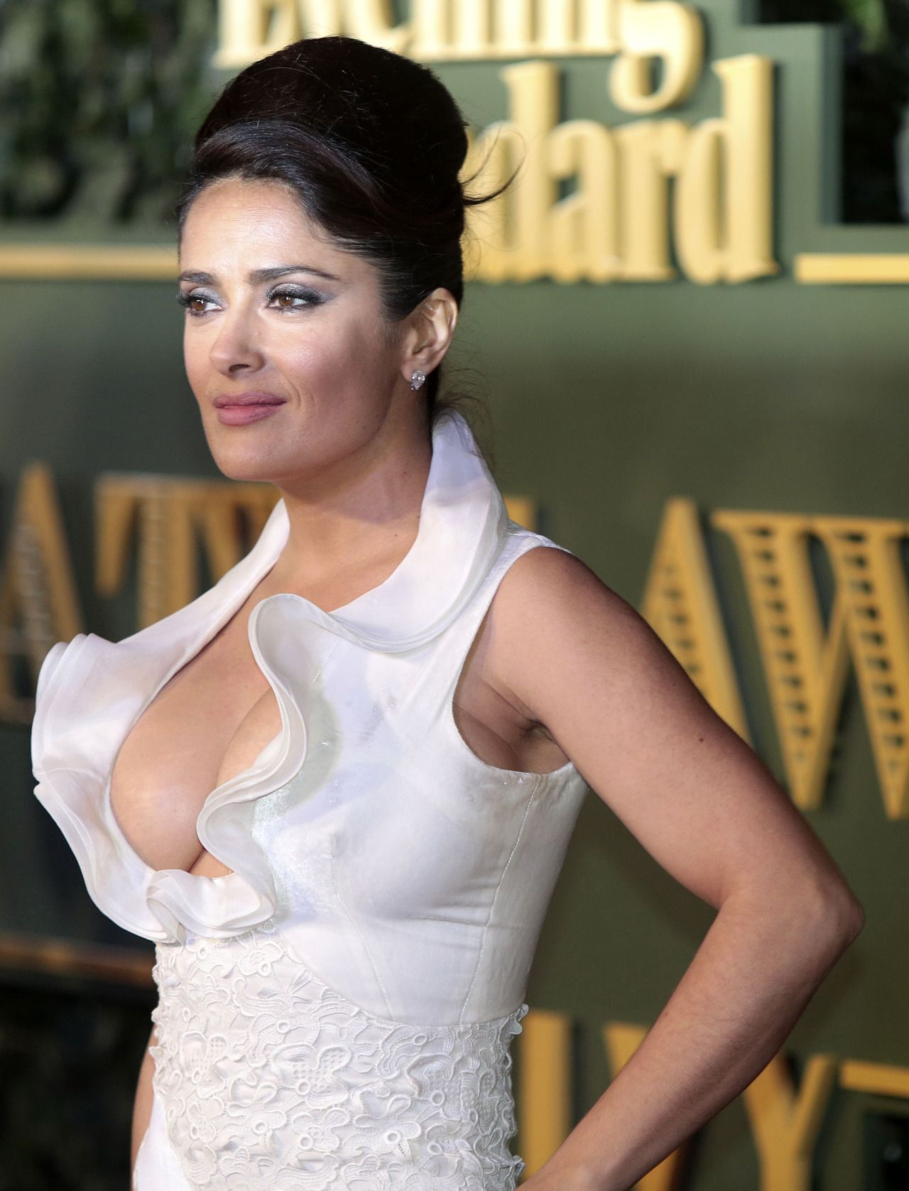 1b71ae2bd5f Salma Hayek – Evening Standard Theatre Awards at The Old Vic Theatre in  London 22.11.15