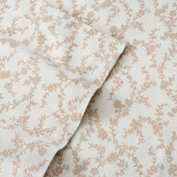 Laura Ashley Victoria Flannel Sheet Set With Images Laura Ashley Flannel Sheets Laura Ashley Sheet Sets Queen