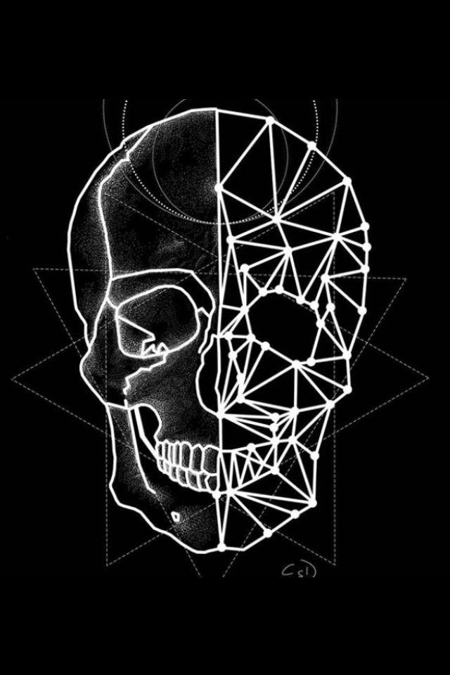 Rocknrox Skull Wall Art Skull Artwork Skull Wallpaper