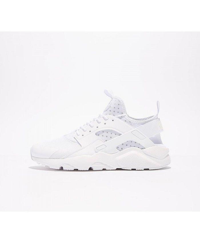 price reduced 100% quality san francisco Nike Air Huarache Run Ultra Chaussures Blanc