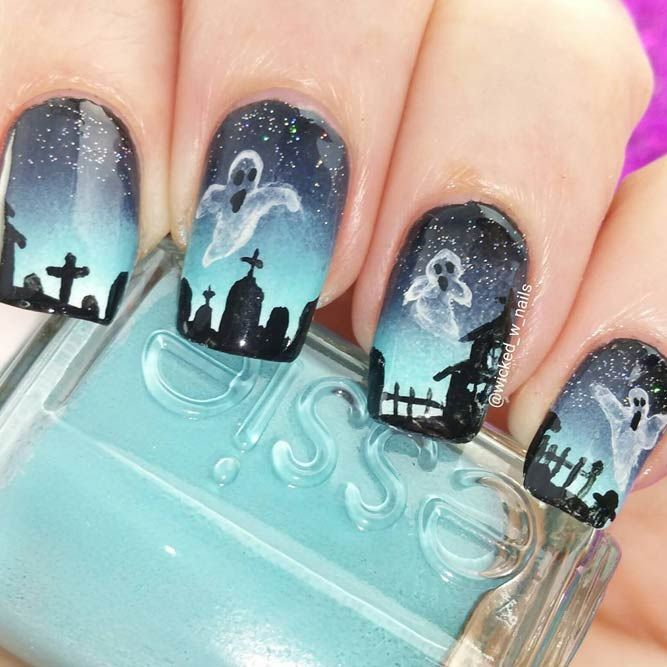 Halloween nail art is of the same importance as your hairstyle and costume. If you wonder why, you can find the answer here!