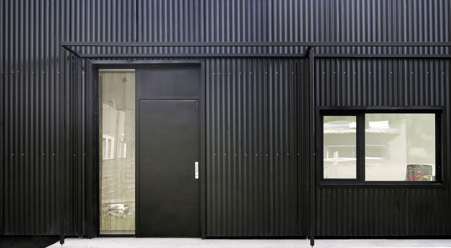 Resultado de imagen para casas con siding y chapa home for Revestimiento exterior zinc