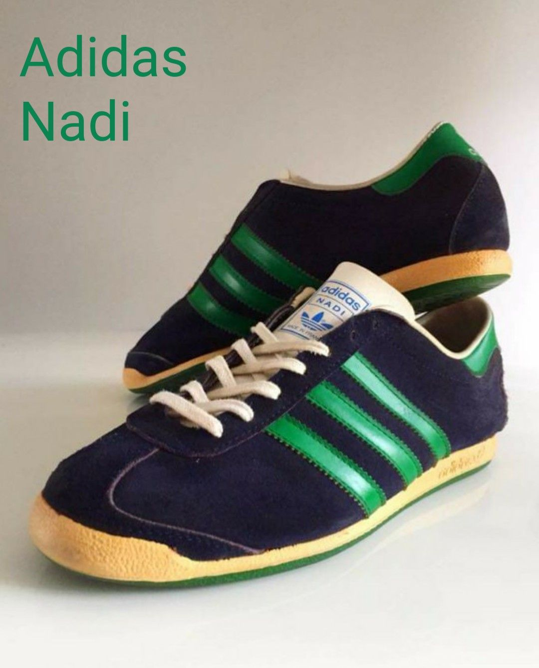 curva aventuras Volverse loco  Vintage French made Adidas Nadi - superb! | Vintage adidas, Sneakers,  Vintage sneakers