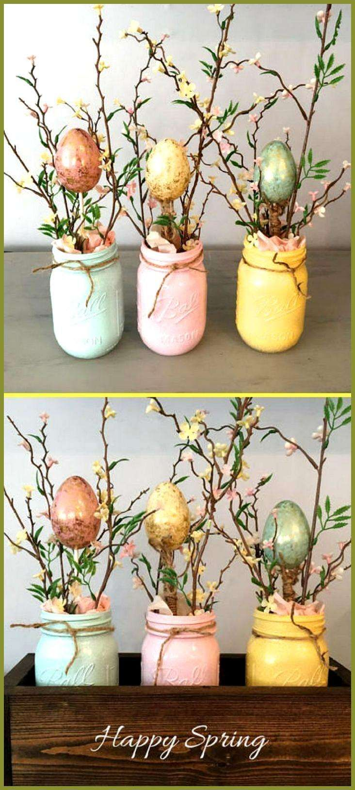 50 Gorgeous DIY Easter Decor Ideas 50 Gorgeous DIY Easter Decor Ideas  This Tiny Blue House Informations About 50 Gorgeous DIY Easter Decor Ideas Pin You can easily use m...