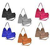 OBC italdesign Modern Ladies Shopper DIN A4 Bag Pouch Hobo Bag School Bag  OBC italdesign Modern Ladies Shopper Bag A4 Bag Bucket Bag Hobo Bag Shoulder Bag Shoulder Bag H...