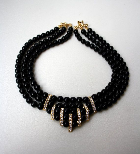 Photo of Items similar to Necklace of black coral on Etsy