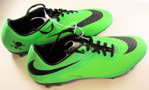 brand new e63c1 3d1d3 Nike-Hypervenom-Phelon-FG-Lime-Green -Soccer-Cleats-Shoes-599730-303-Mens-US-11