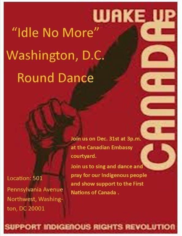 DC ACTION 12/31 #idlenomore
