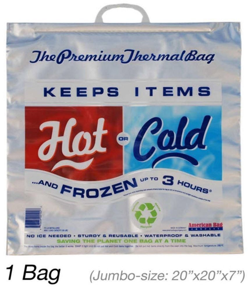 Insulated Bag | Thermal Bag | Hot Cold Bag (1 Jumbo Bag) #AmericanBagCompany
