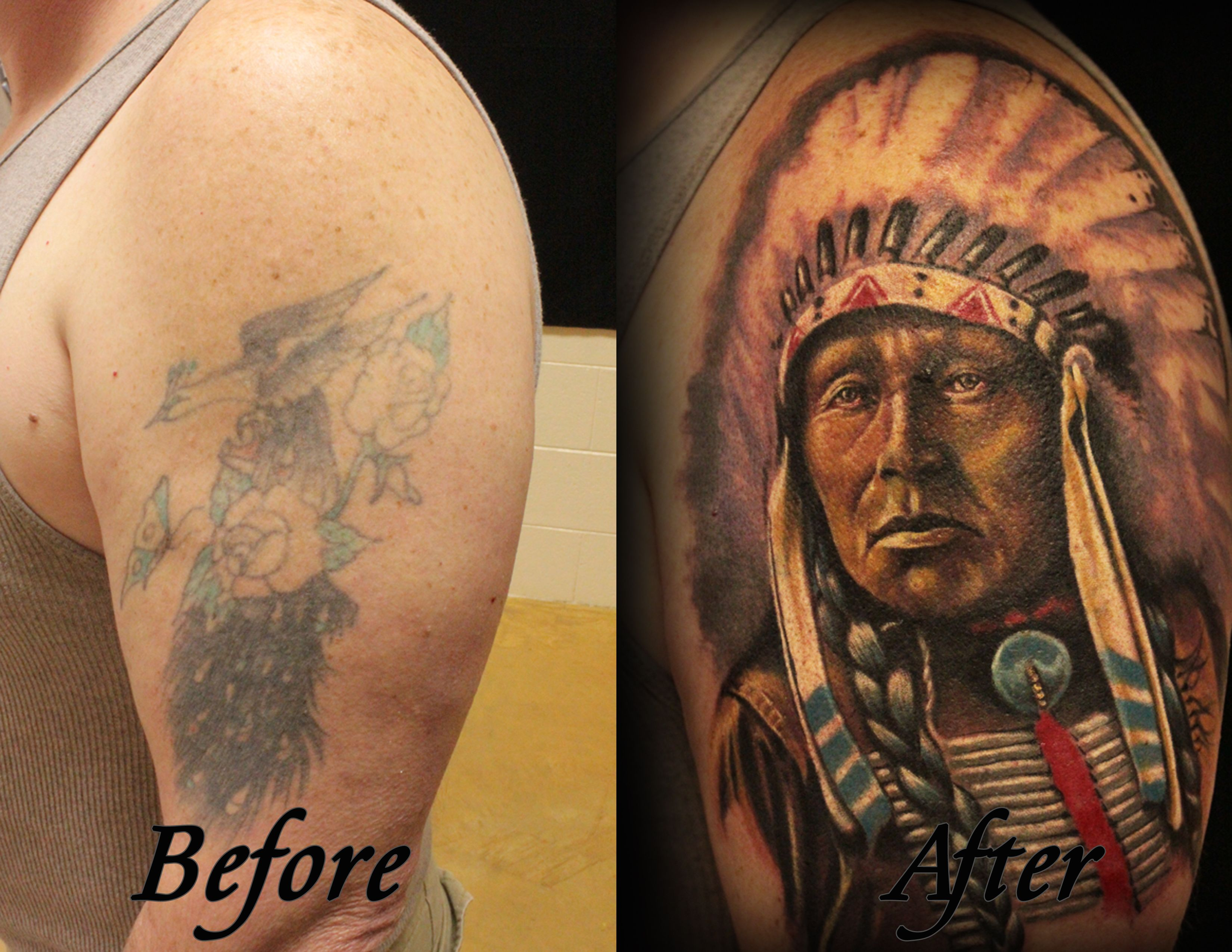 My Cousin Mark Is The Best Tattoo Artist In Nc Tattoo Artists Cool Tattoos Portrait Tattoo