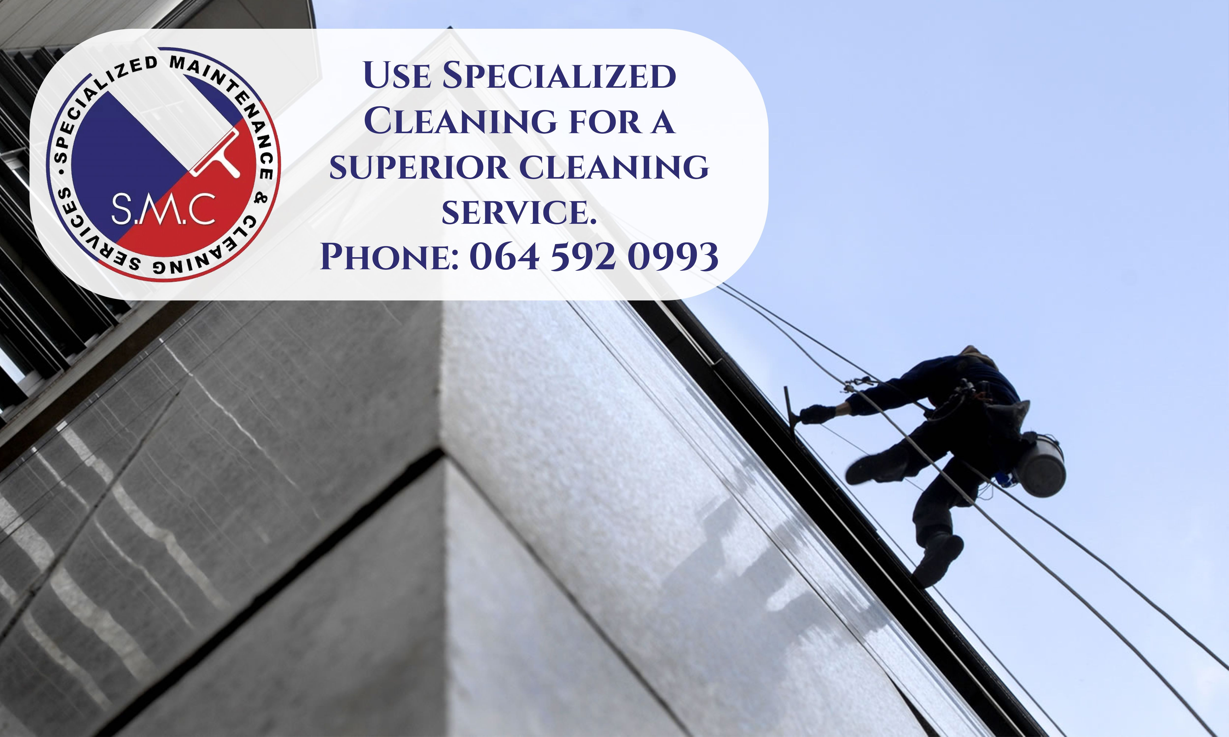 Use specialized cleaning for a superior cleaning service