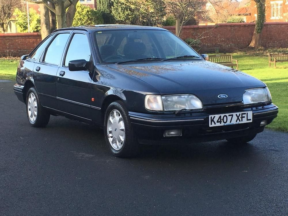 Ebay 1992 Ford Sierra Xr4x4 2 9i Smokestone Blue Grey Just