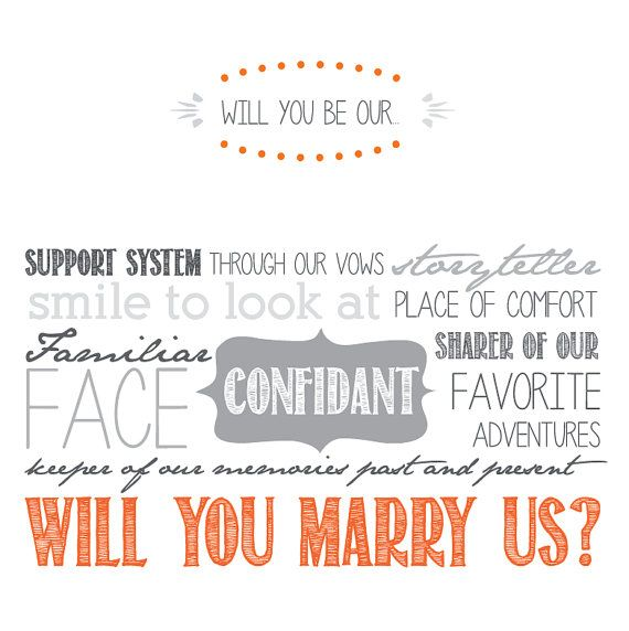 Will You Be Our Officiant Cards
