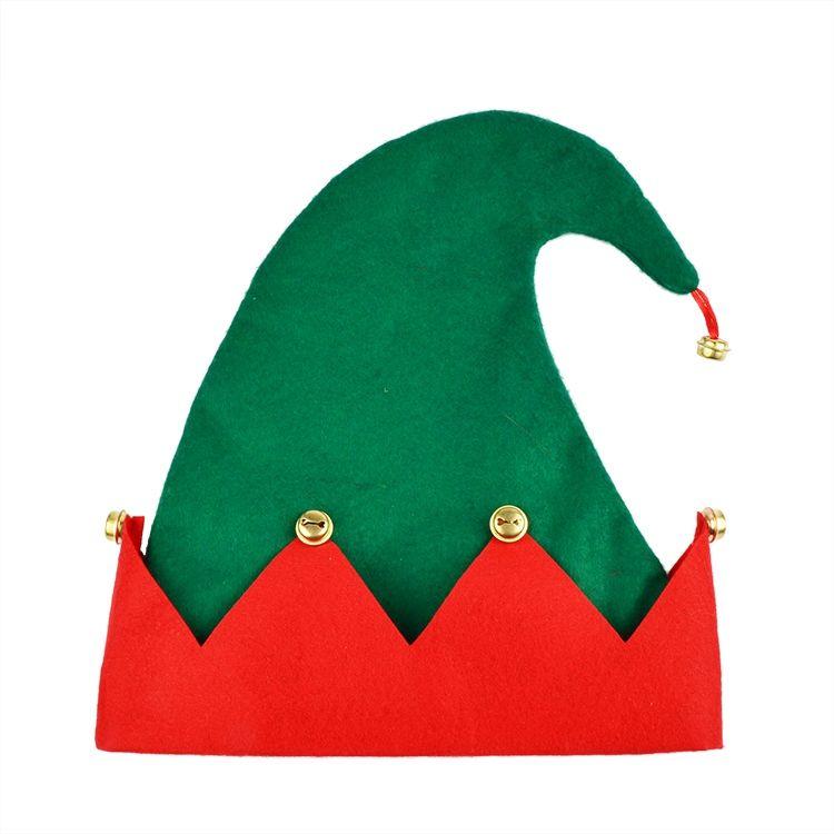 xmas elf hat,china musical christmas hat, hot pink santa hat