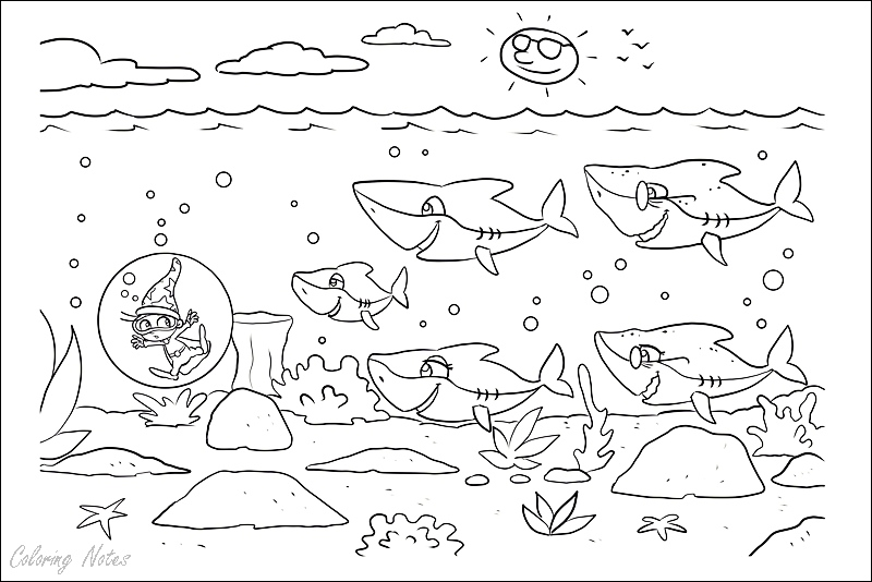 Baby Shark Coloring Sheets Print And Color Shark Coloring Pages Coloring Pages Baby Shark