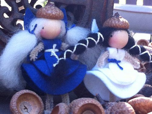 Wool felt and natural supplies for Waldorf doll and toy making, art, crafts and felting.