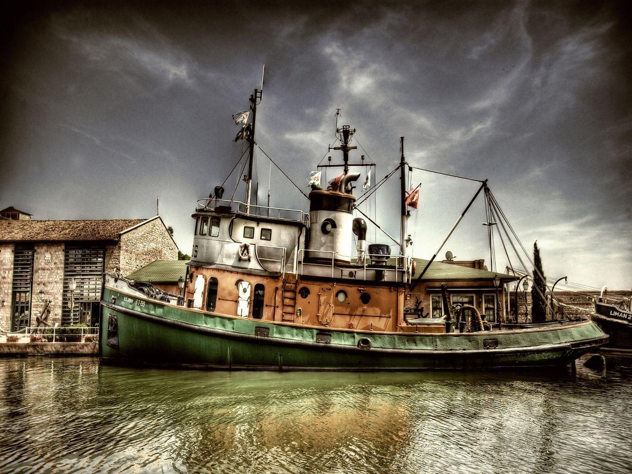 Tug Boat By Diver969 Sandal Sefasi Balikci Tekneleri Gemi