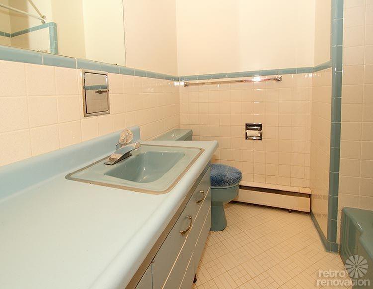 Warm And Beautiful Midcentury Modern Brick Ranch Time Capsule - Bathroom remodeling norfolk va