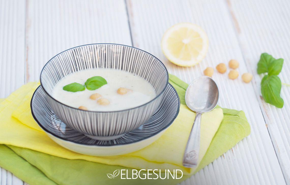 Falafel mal ganz anders - als orientalische Suppe!  Das Rezept findet ihr auf: www. elbgesund.de/2016/11/falafel-suppe/