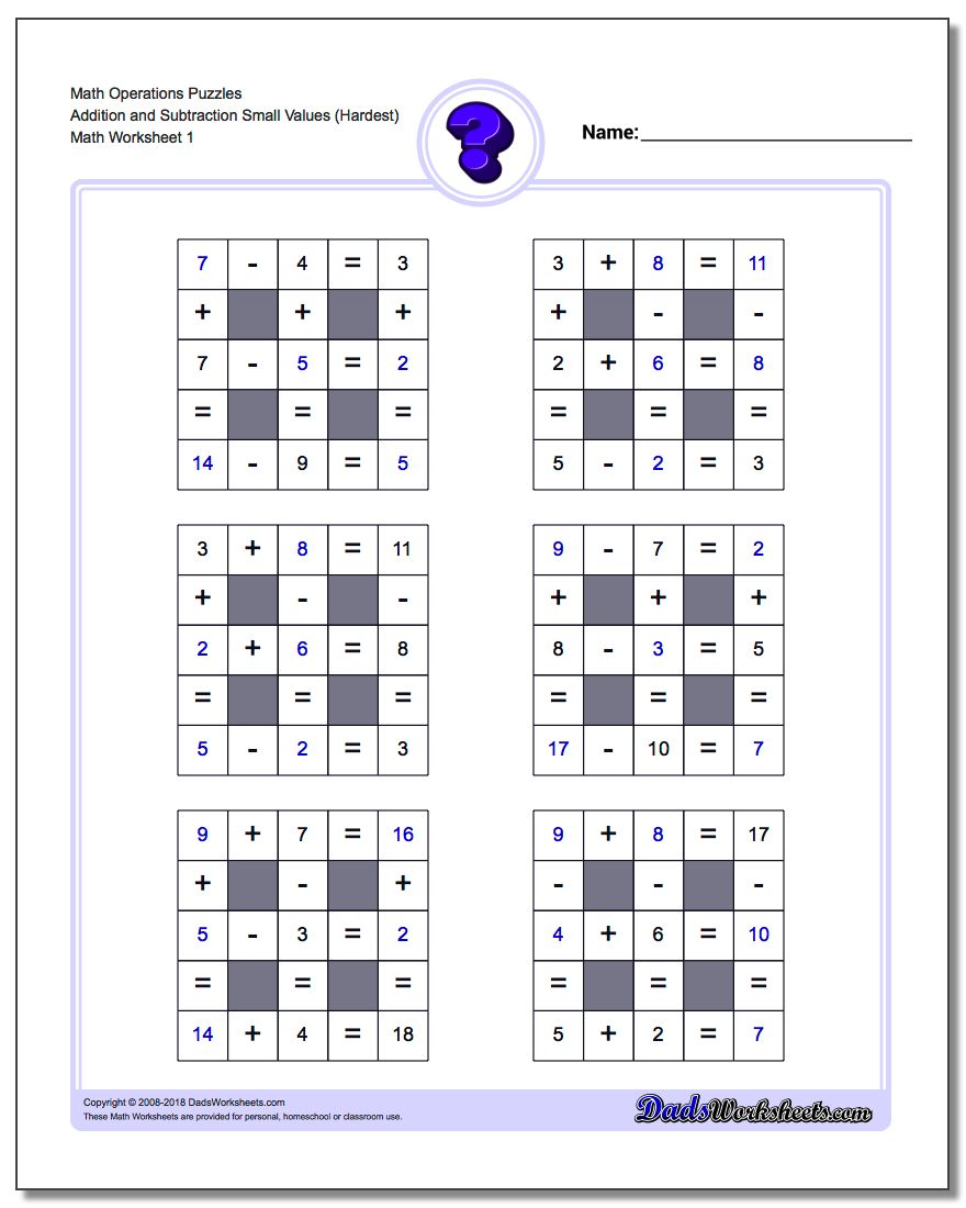 Number Grid Puzzle Math Operations Addition And Subtraction Small Values Hardest Maths Puzzles Grid Puzzles Number Grid [ 1100 x 880 Pixel ]