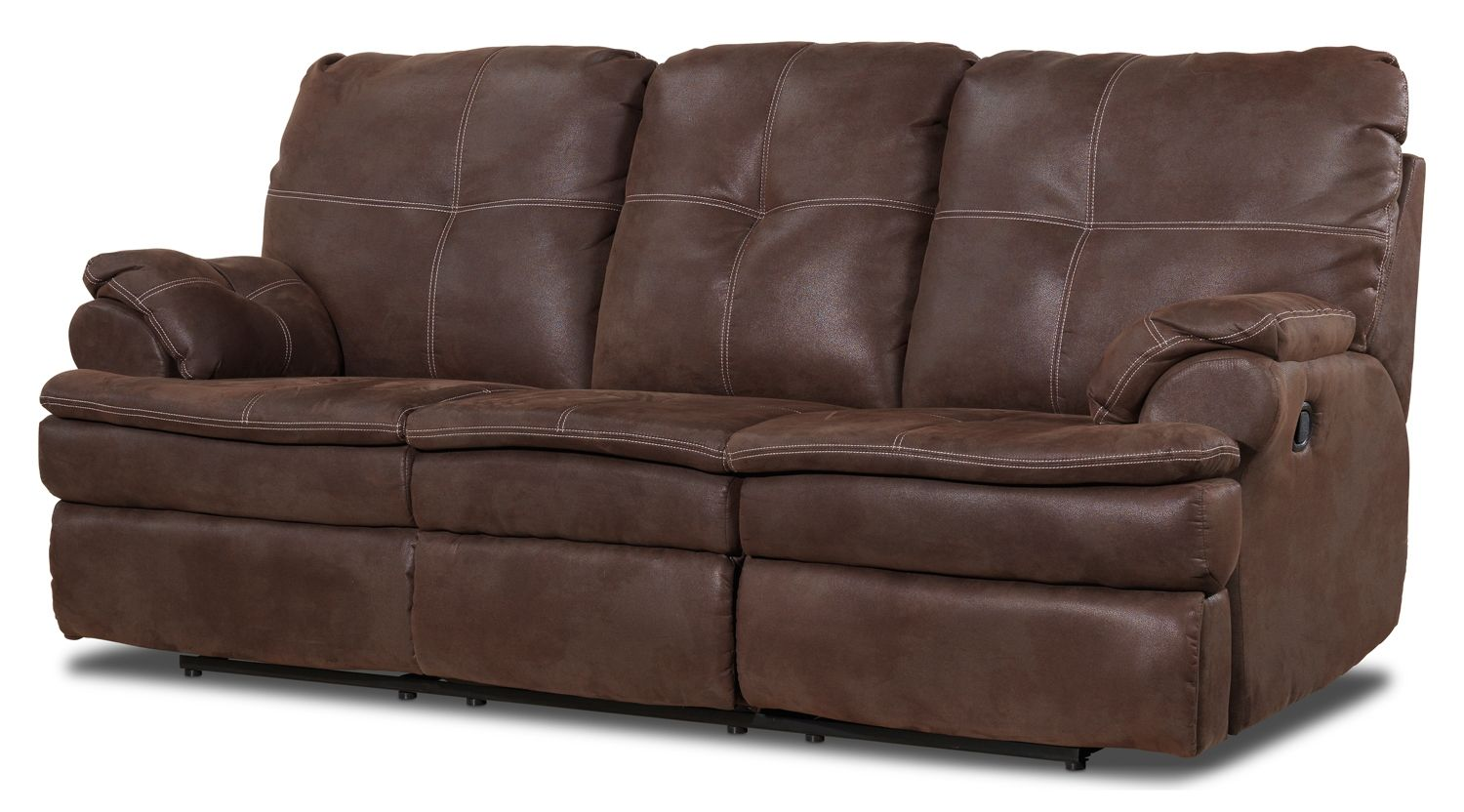 Leon S Leather Recliner Sofa Www Resnooze Com