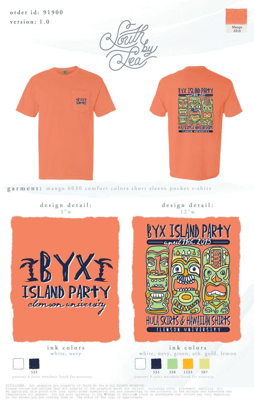 06d595ff BYX Island Party 2015! Hula Skirts and Hawaiian Shirts #Southbysea ...