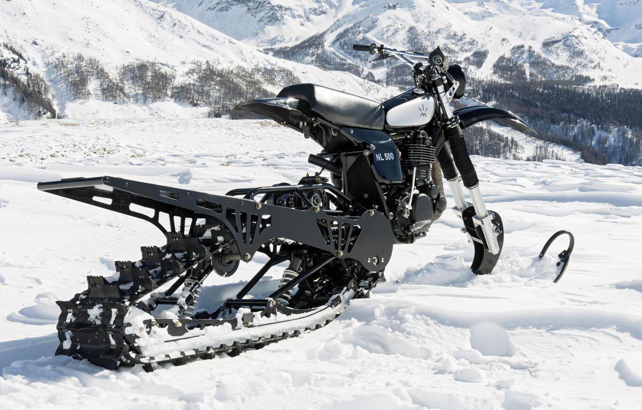 Husqvarna Nl500 Snow Bike By Husky Restorations Bikermetric Snowbike Snow Vehicles Bike Exif