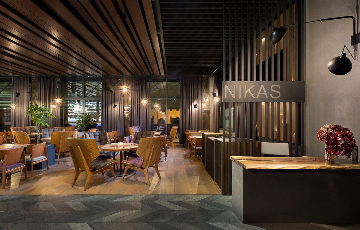 gran variedad de precio de fábrica nuevo autentico NIKAS restaurant on Behance   Best interior design, Interior ...