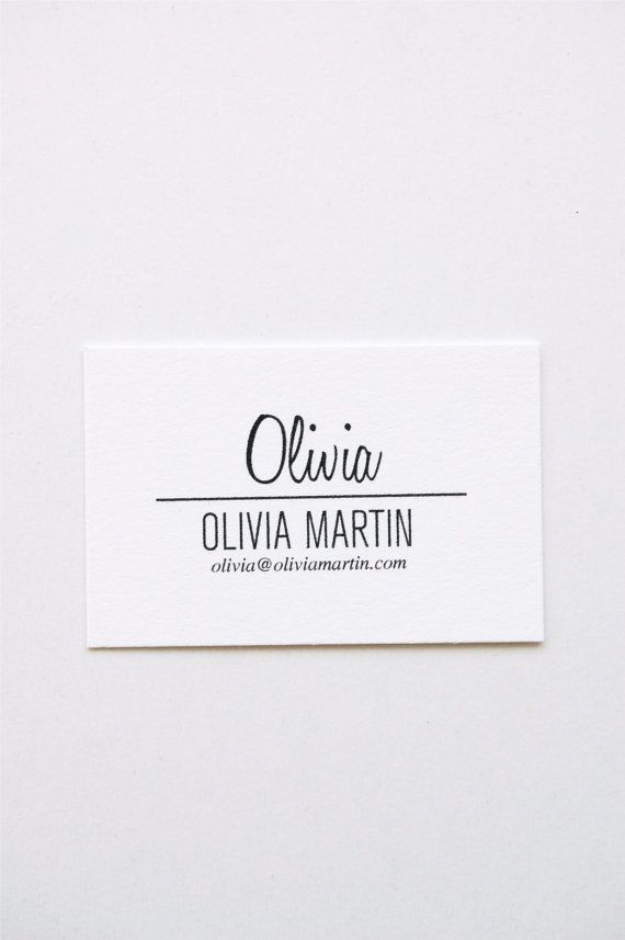 Olivia letterpress calling cards set of 50 by inhauspress on etsy olivia letterpress calling cards set of 50 by inhauspress on etsy colourmoves