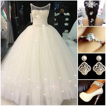 Is This Your Dreaming Wedding Dress BridalDress BriGown Ring