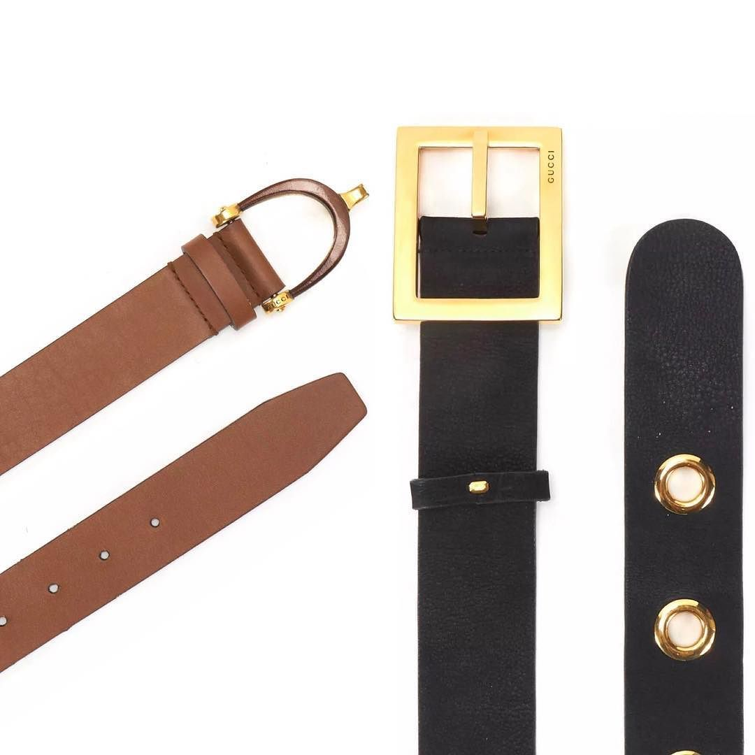 f15caf6c2 vintage gucci belts brown equestrian style size 34 black and gold nubuck  style size 28 asking