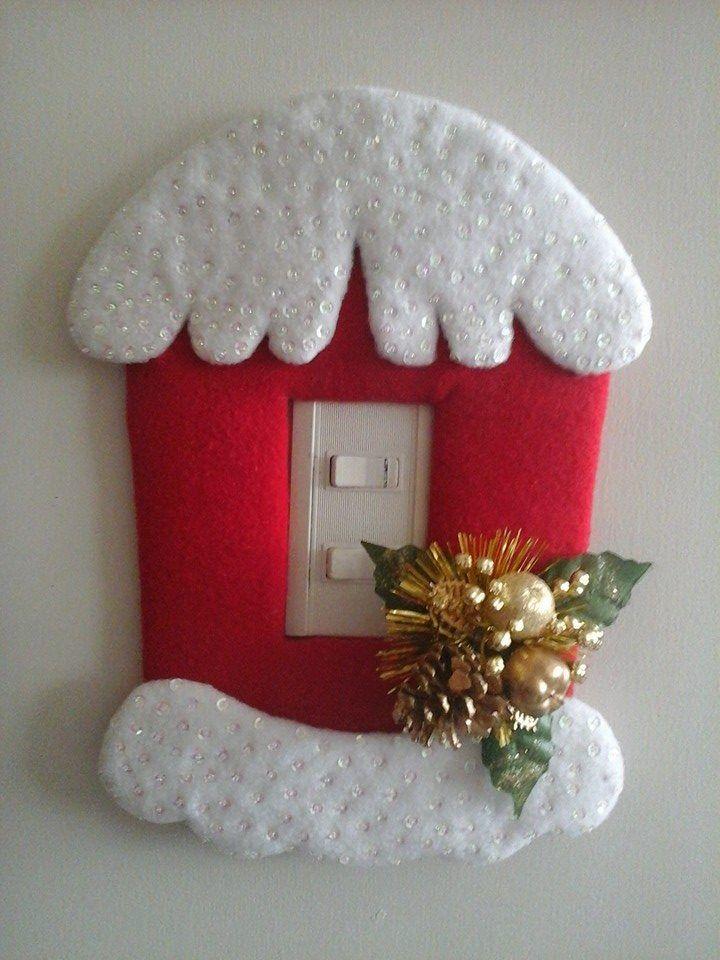 15 ideas geniales para decorar tus interruptores diy - Ideas decorar navidad ...