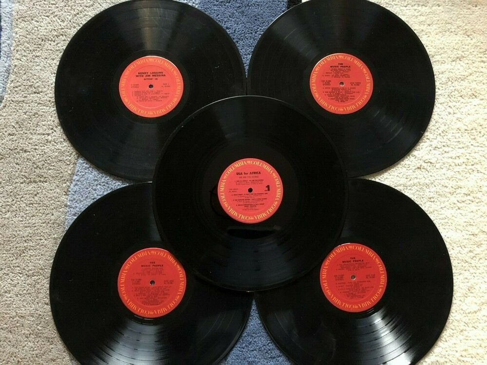 Lot Of 5 12 Inch Vinyl Lp Columbia Record Albums For Decoration Arts Crafts Ebay In 2020 Vinyl Record Art Ideas Vinyl Record Art Record Art