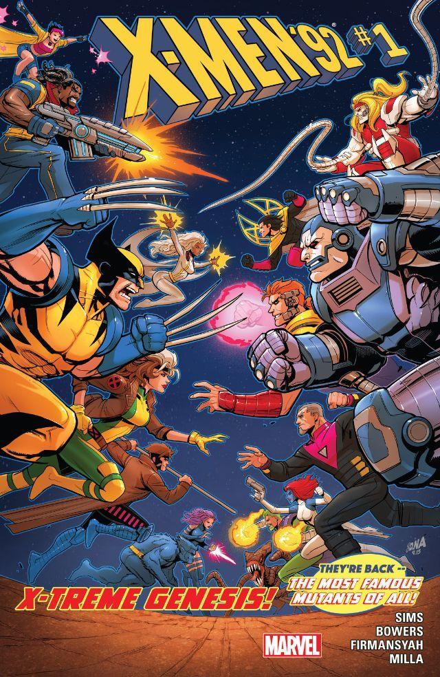 X Men 92 2016 1 Comics By Comixology X Men Chris Sims Marvel