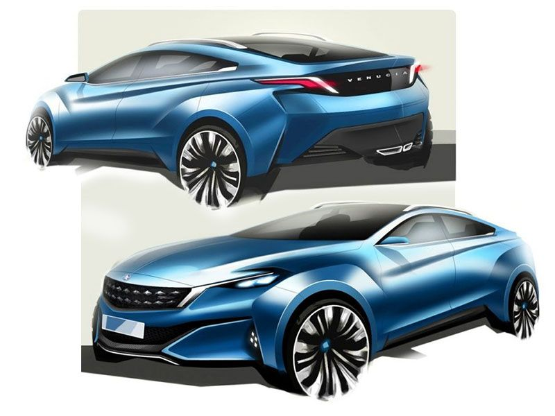 Nissan preview Venucia-branded crossover concept - Car Body Design
