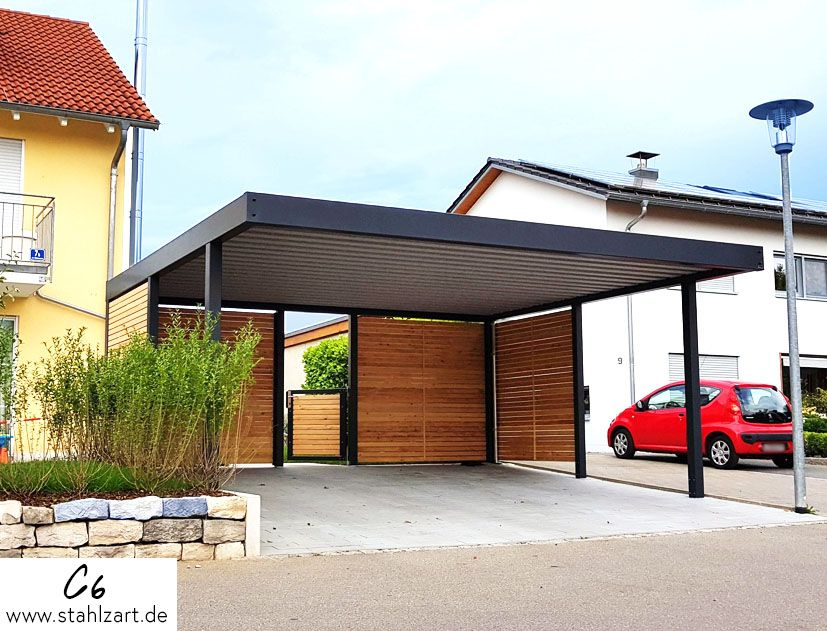 Stahlzart Metall Carports Parktraum Stahlcarport