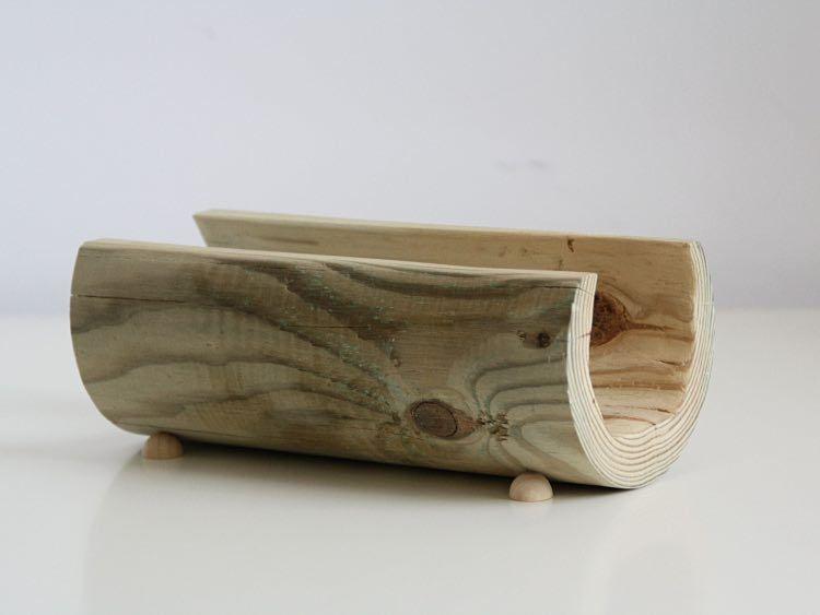 Tutoriel DIY Fabriquer un porte-lettre en bois minimaliste via