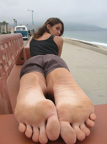 Girls Showing There Feet